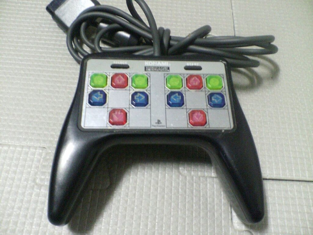 DDR PS1 Controller